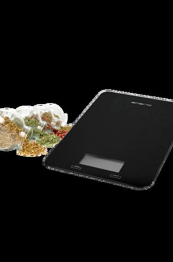 Keittiövaaka Musta kapasiteetti jopa 5 kg