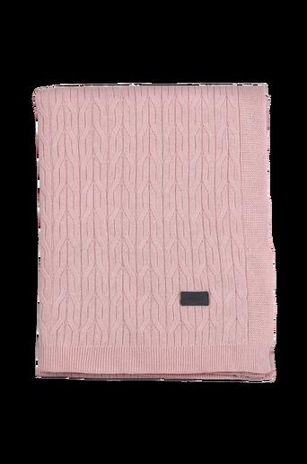 Flat Kable Knit torkkupeitto 130x180
