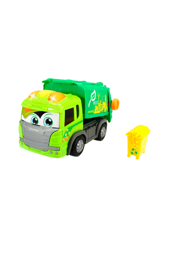 Happy Scania Garbage Truck