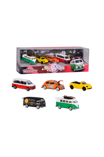 Majorette Volkswagen, 5/pakk.