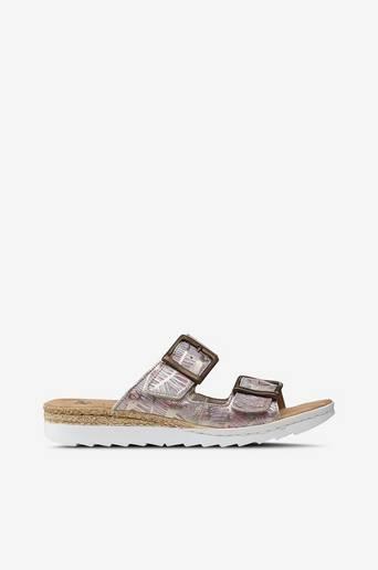 Sandaalit, slip in malli