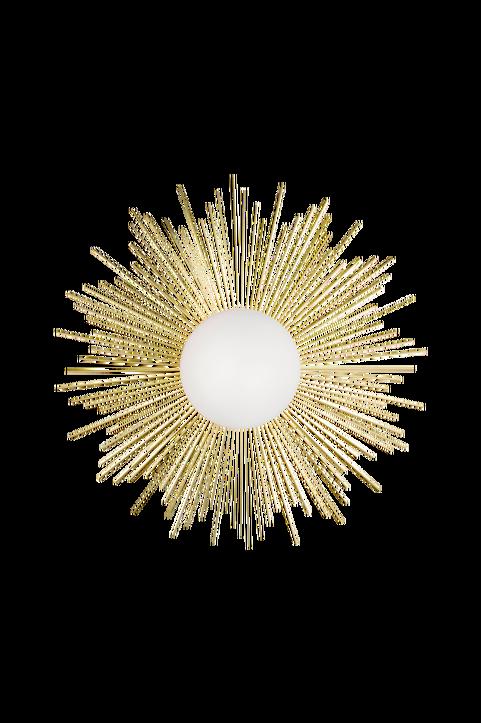 Vägglampa/taklampa Soleil