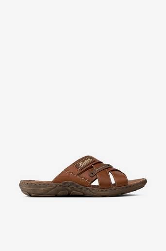 Sandaalit, joissa ristikkäiset kaksoisremmit