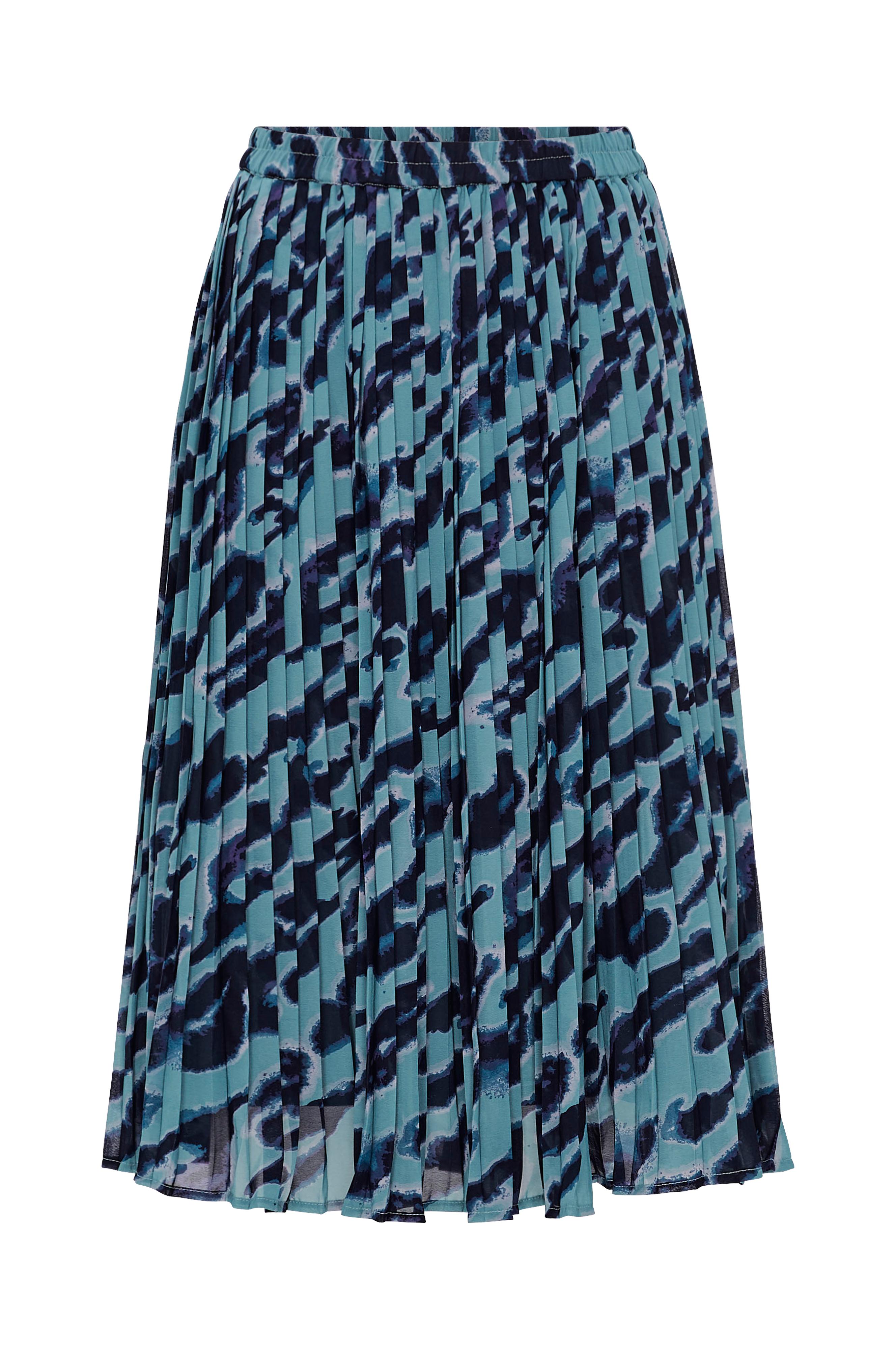 8ce489e8c11 Vero Moda Nederdel vmTanilla HW Skirt - Blå - Dame - Ellos.dk