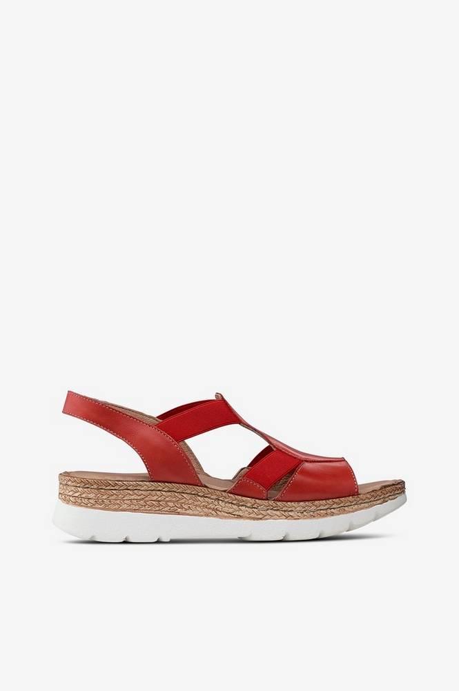 Emma Sandal med høj hæl