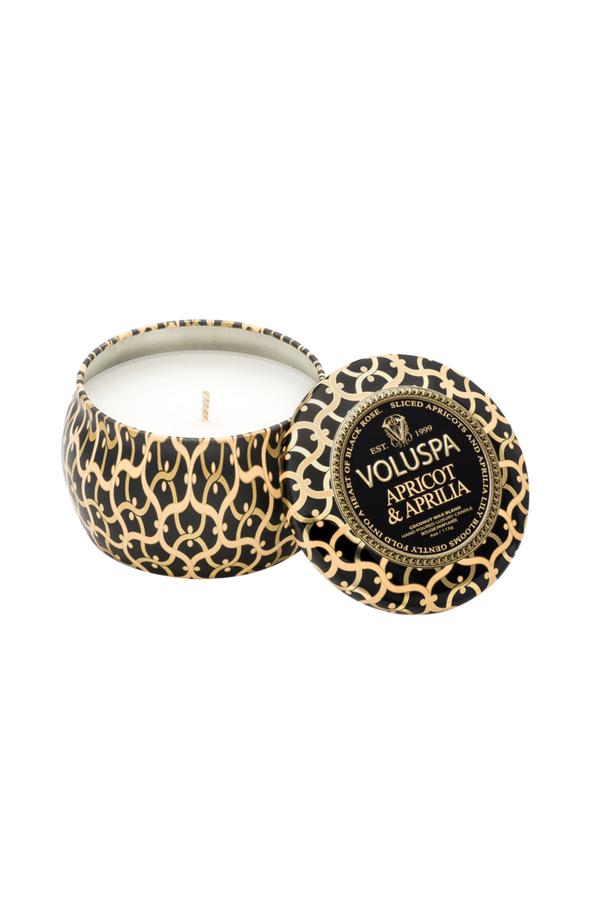 Bilde av Apricot & Aprilia - Decorative Tin Candle 25h - 19627