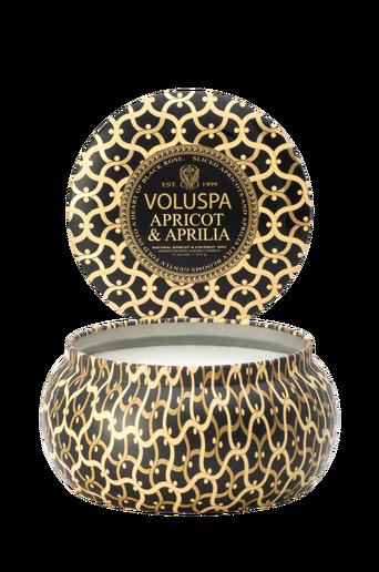 Apricot & Aprilia - 2 Wick Maison Metallo Candle 50 h
