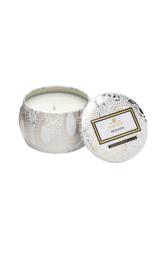 Mokara - Decorative Tin Candle 25 h