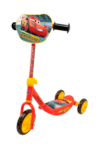 Disney Autot -potkulauta, jossa 3 pyörää