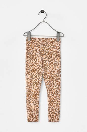 Leggingsit Gold Leopard