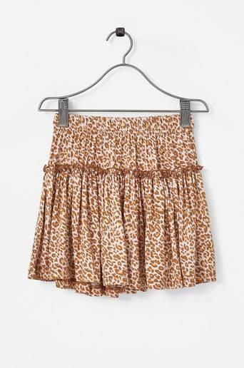 Hame Sylvia Skirt Gold Leopard