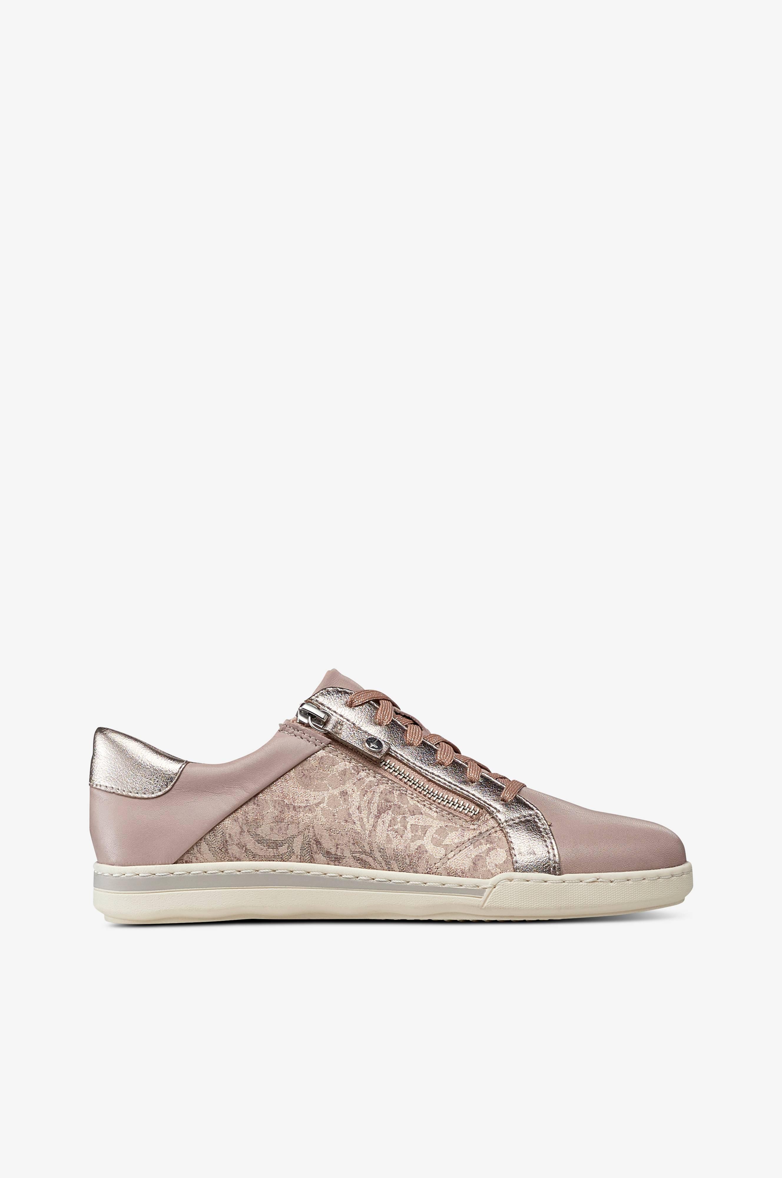 tamaris sneakers med lynlås rosa dame 8ca184ad69 moove