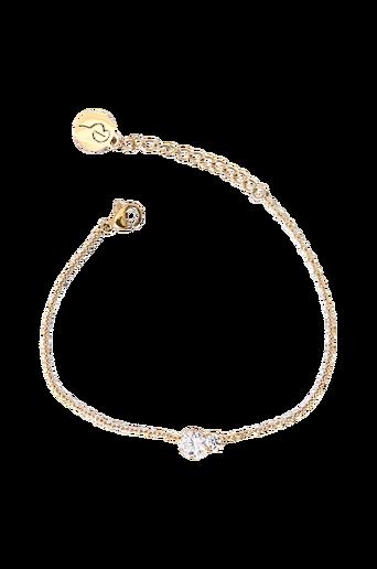 Crown Bracelet Double Gold -rannekoru