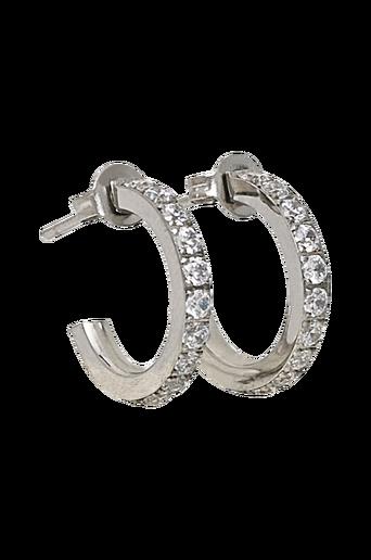 Glow Earrings Mini Steel -korvakorut