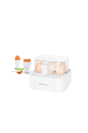 Automaattinen ja fiksu kananmunankeitin, valkoinen