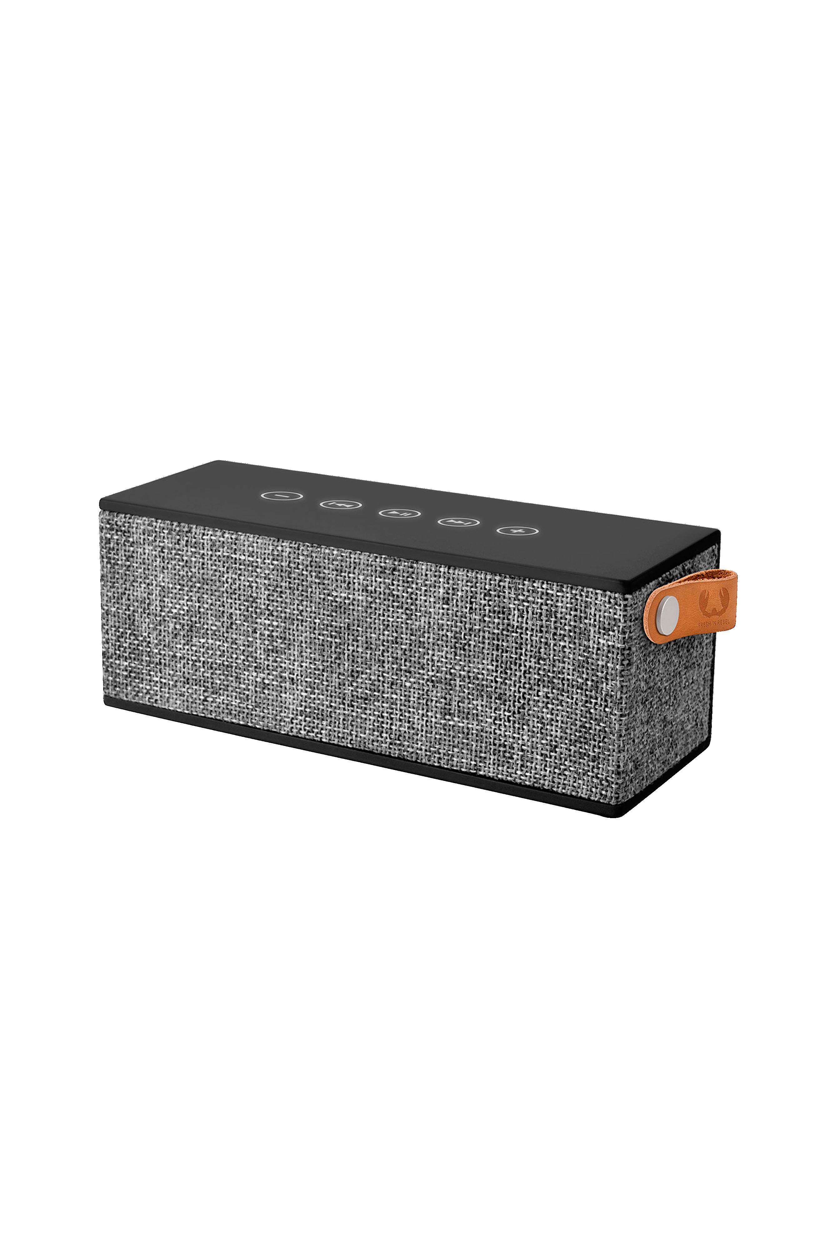 Fresh 'n Rebel Rockbox Brick Høytaler Concrete Black