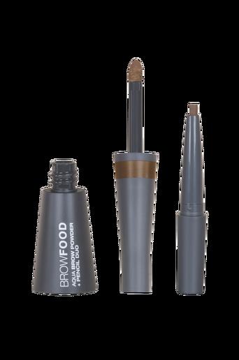 Browfood Aqua Brow Powder + Pencil Duo