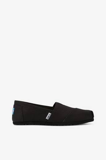 Espadrillot Classic Black on Black Canvas
