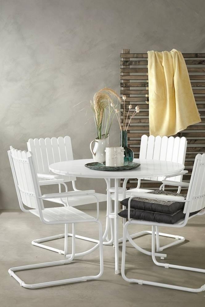 Matgrupp Torino 4 stolar och bord