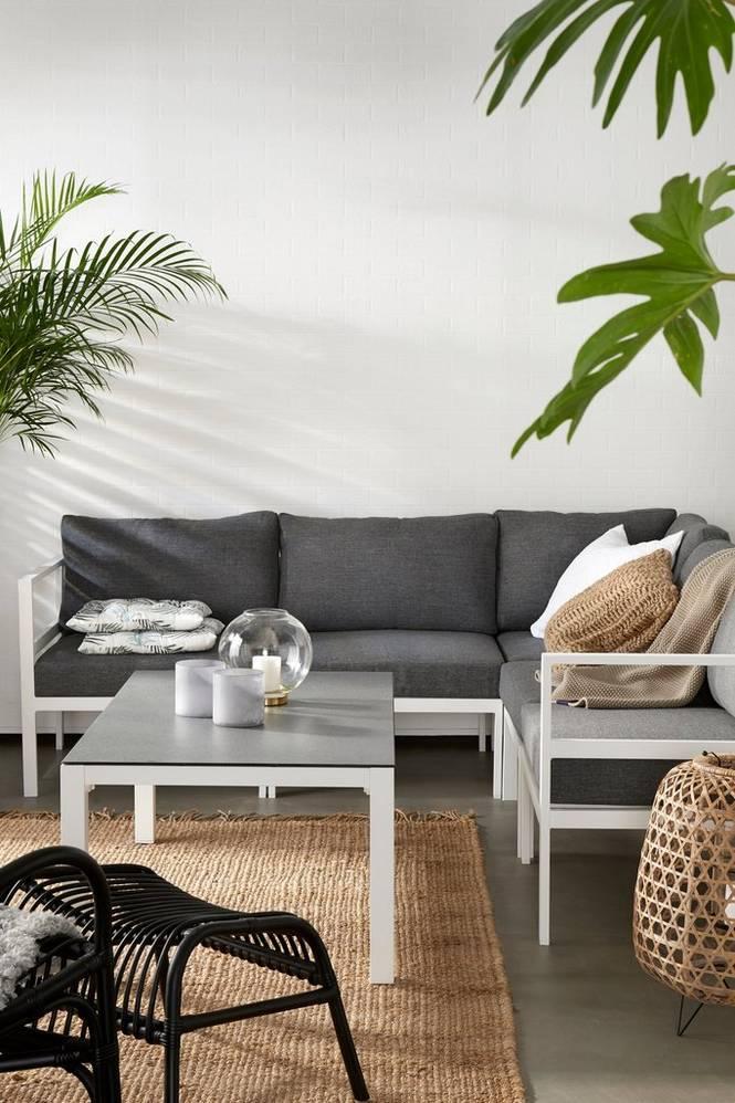 Byggbar soffa Verona med bord