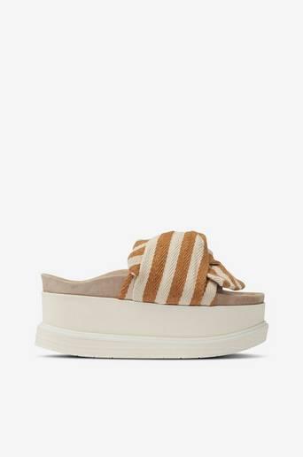 Sandaalit Slippers Knot Striped