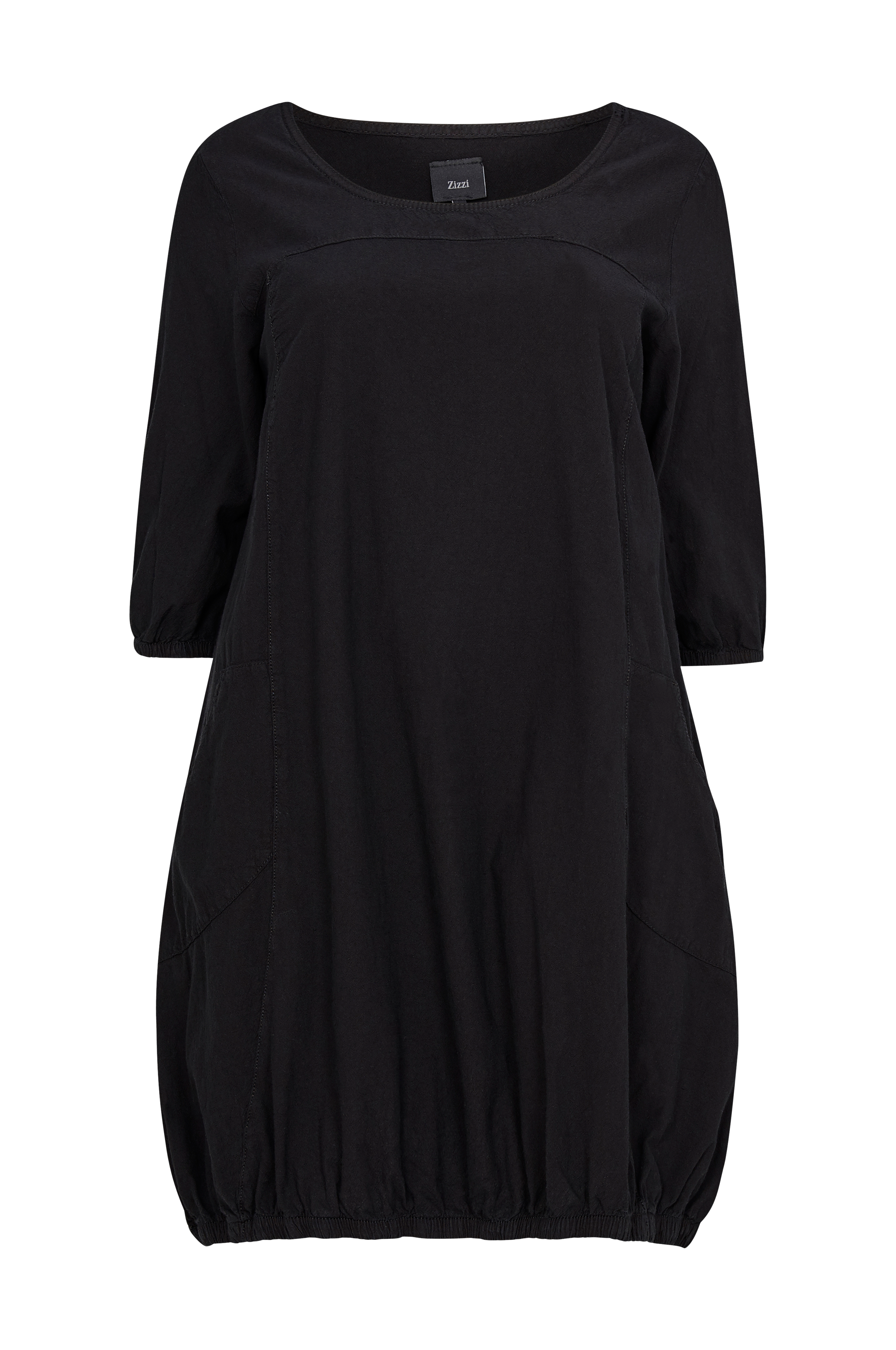 c012aa19 Zizzi Kjole JElena Dress - Sort - Dame - Ellos.dk