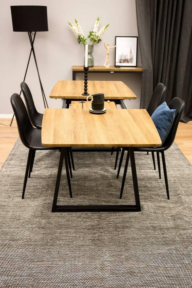 Matgrupp Isny bord och 4 st Penally stolar