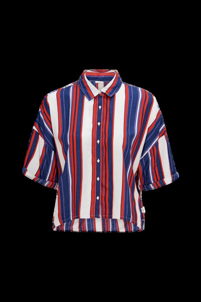 Lee Skjorte Cropped Shirt