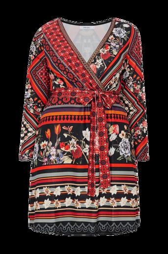 Ethnic Print Dress -mekko