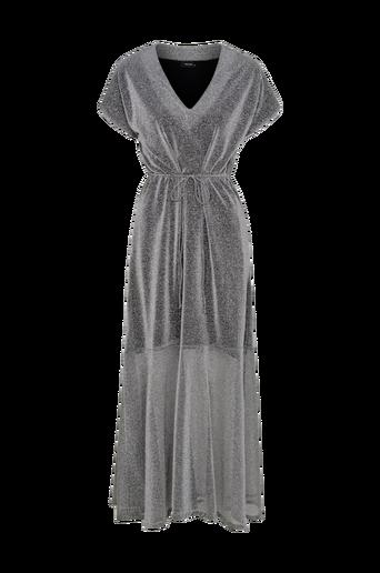 Moa Silver Dress -maksimekko