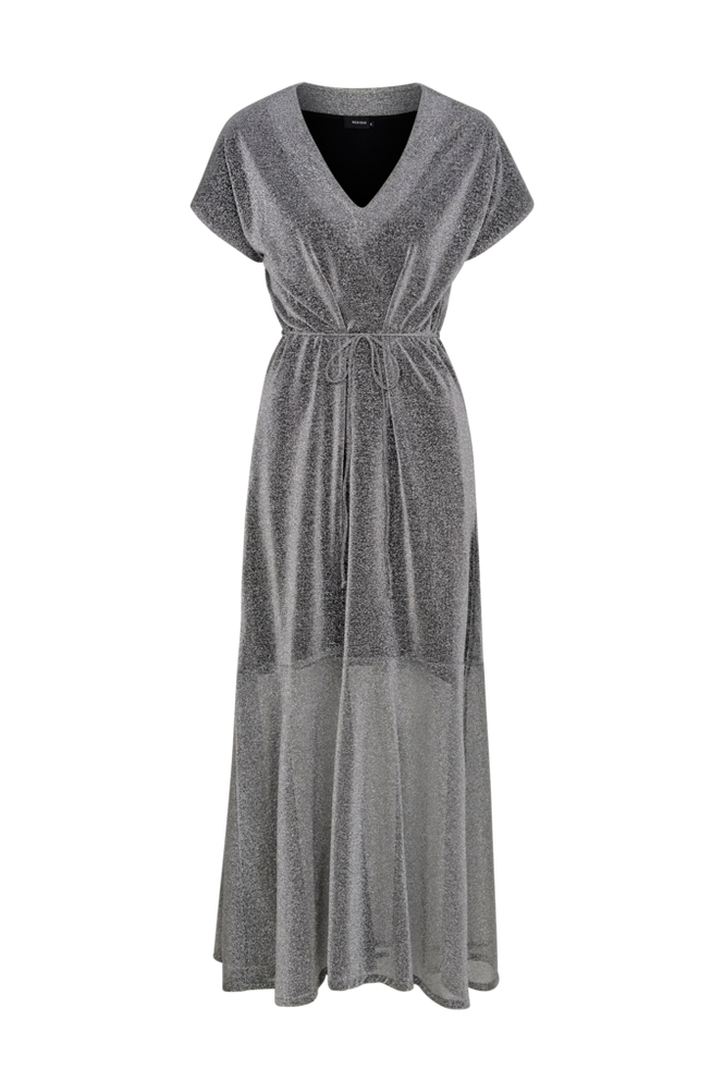 RESIDUS Maxikjole Moa Silver Dress