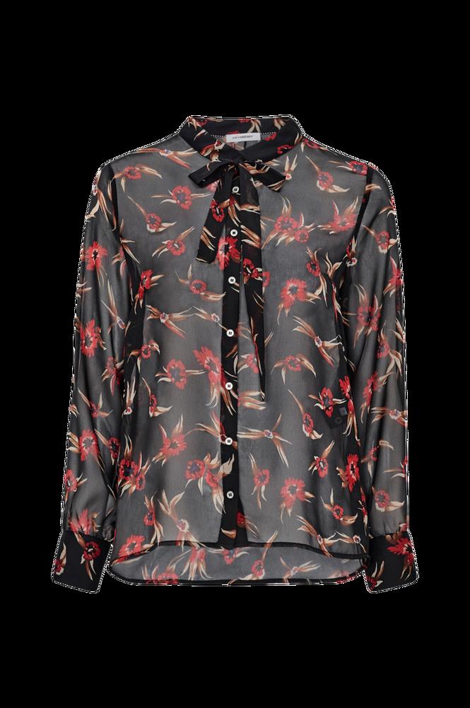 co'couture Bindebåndsbluse Ovida Tie Shirt