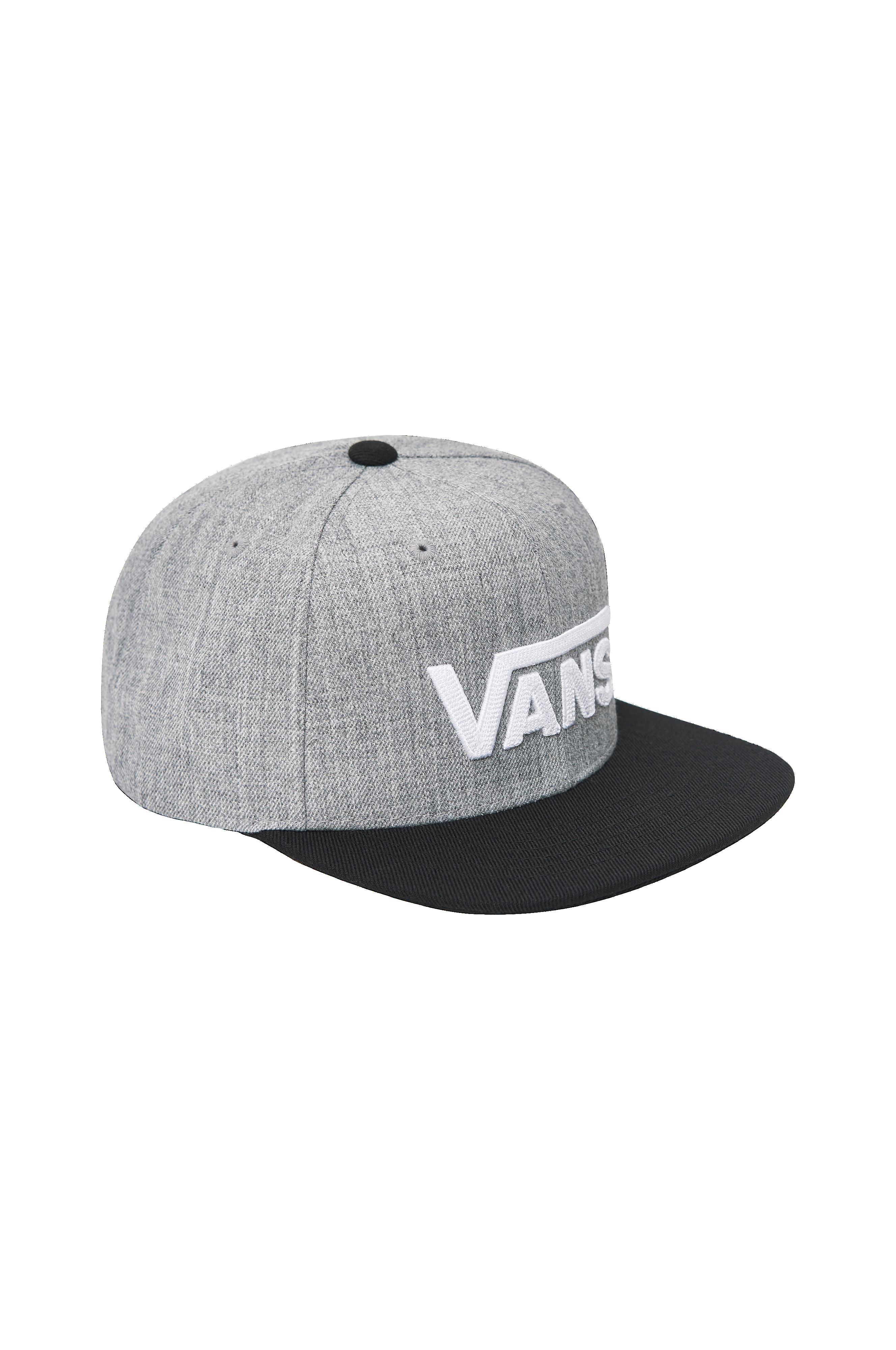 Vans Drop V Snapback Hat -lippis - Harmaa - Lapset - Ellos.fi ddbf4528d7