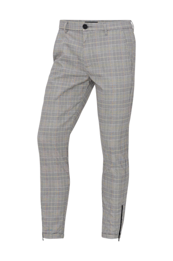 Pisa Chino Yellow Check -housut