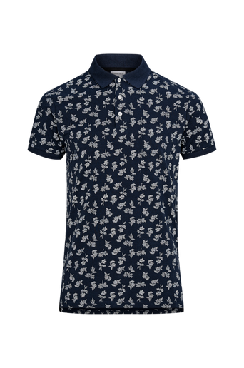 Printed Polo Shirt S/S -T-paita