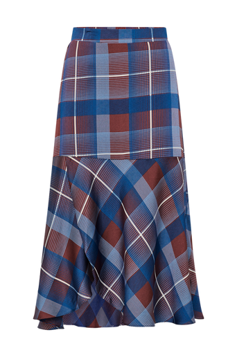 Modern Check Skirt hame