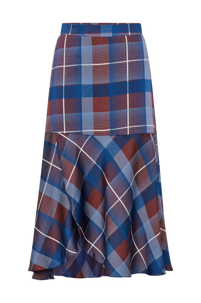 co'couture Nederdel Modern Check Skirt