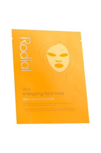 Vit C Energising Face Mask - single 1 kpl