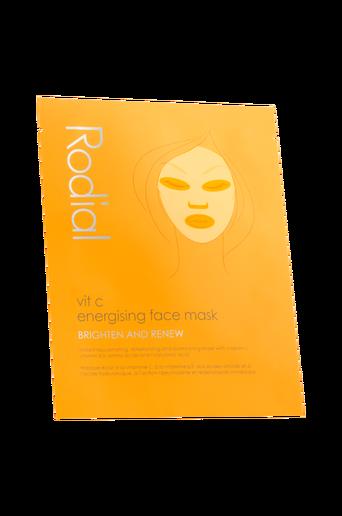 Vit C Energising Face Mask - single 1 kpl
