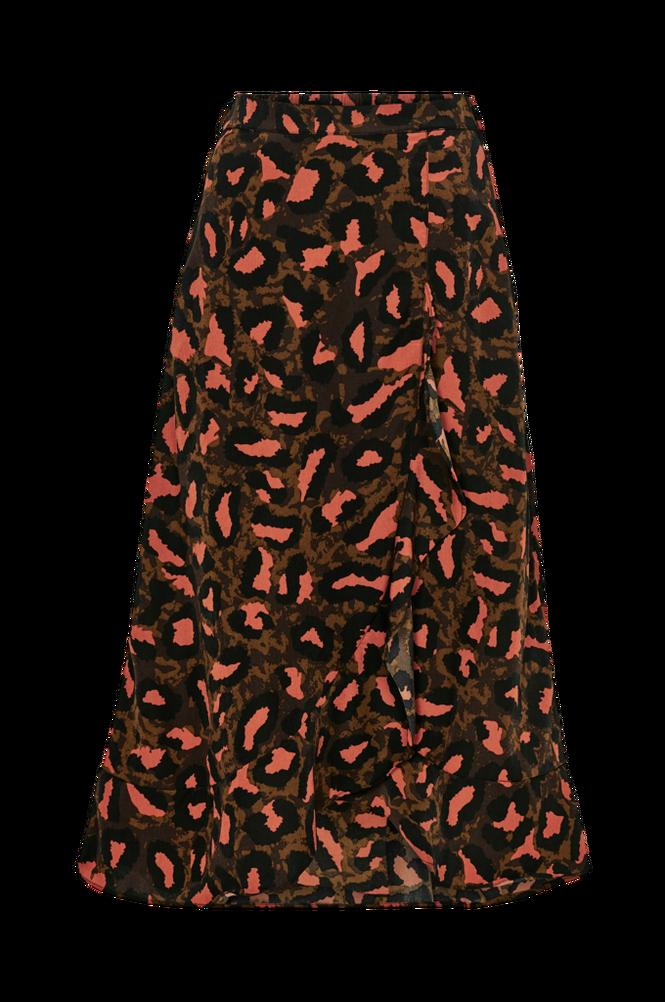co'couture Flæsenederdel Debby Animal Skirt
