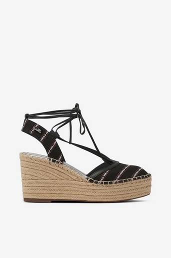 Sandaletit Kamini Mid Stripe Logo Sling