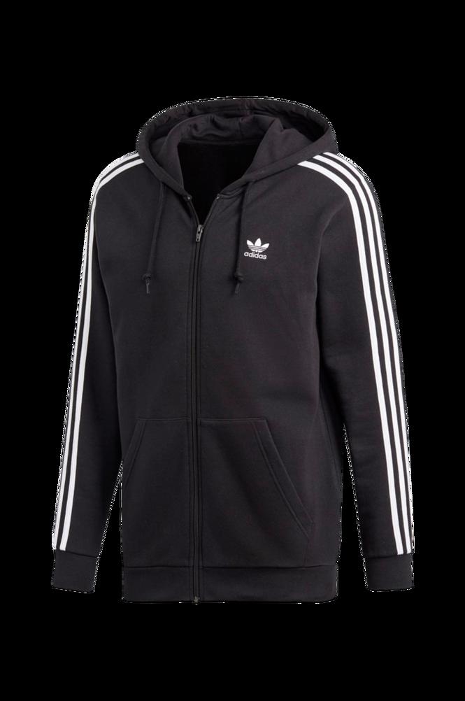 adidas Originals Hættetrøje 3-stripes FZ Hoodie