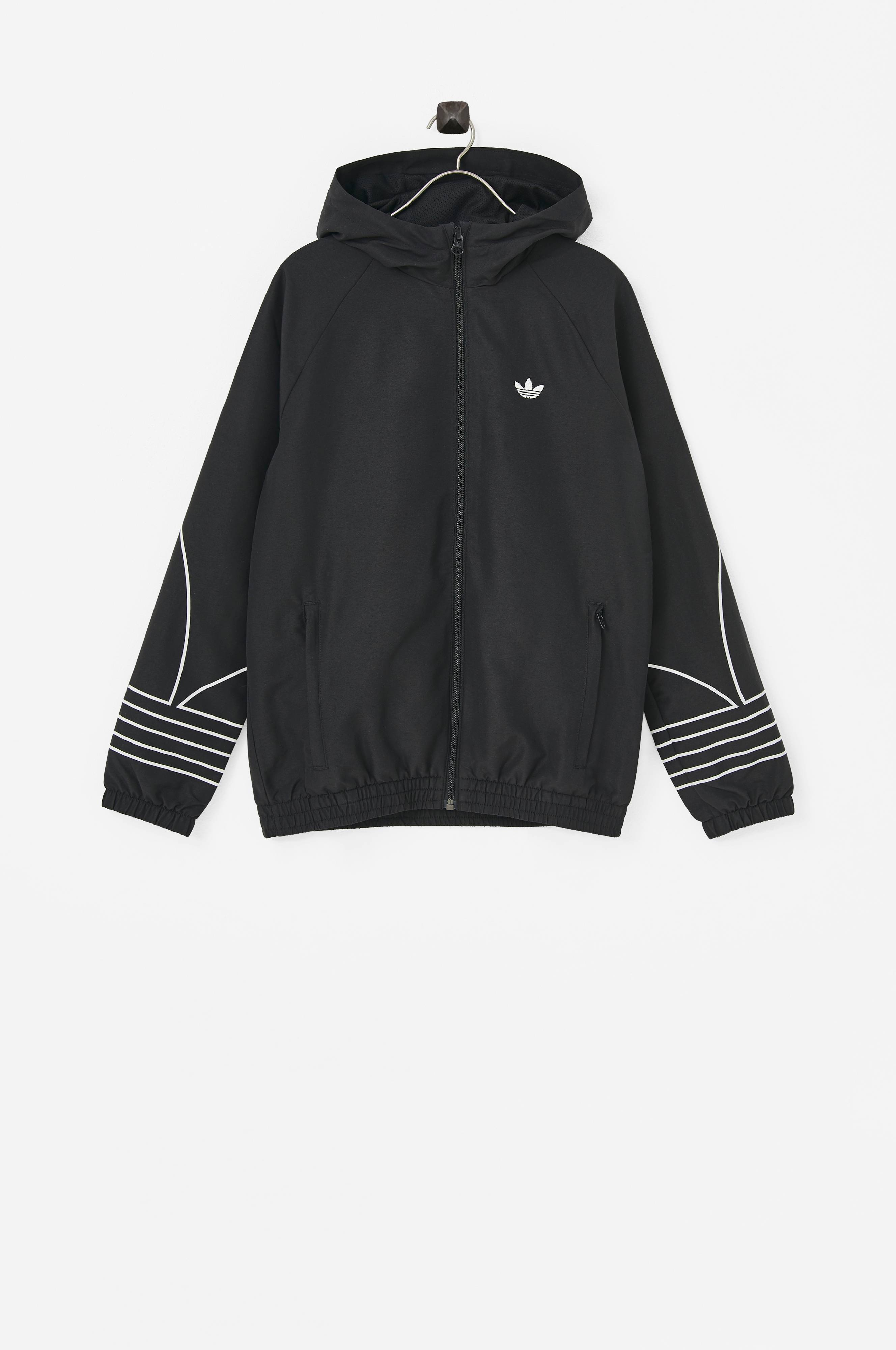 adidas Originals Vindjakke Outline Windbreaker Svart