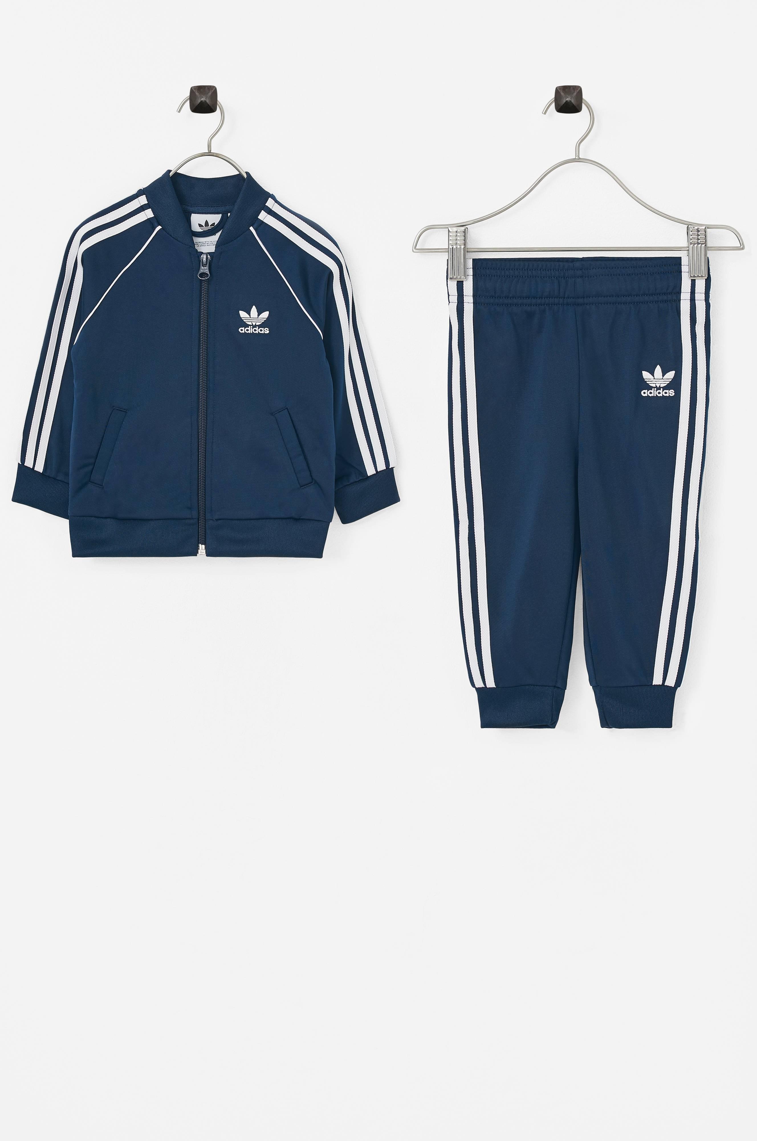 f3035438 adidas Originals Treningsdress Superstar Suit - Blå - Barn - Ellos.no