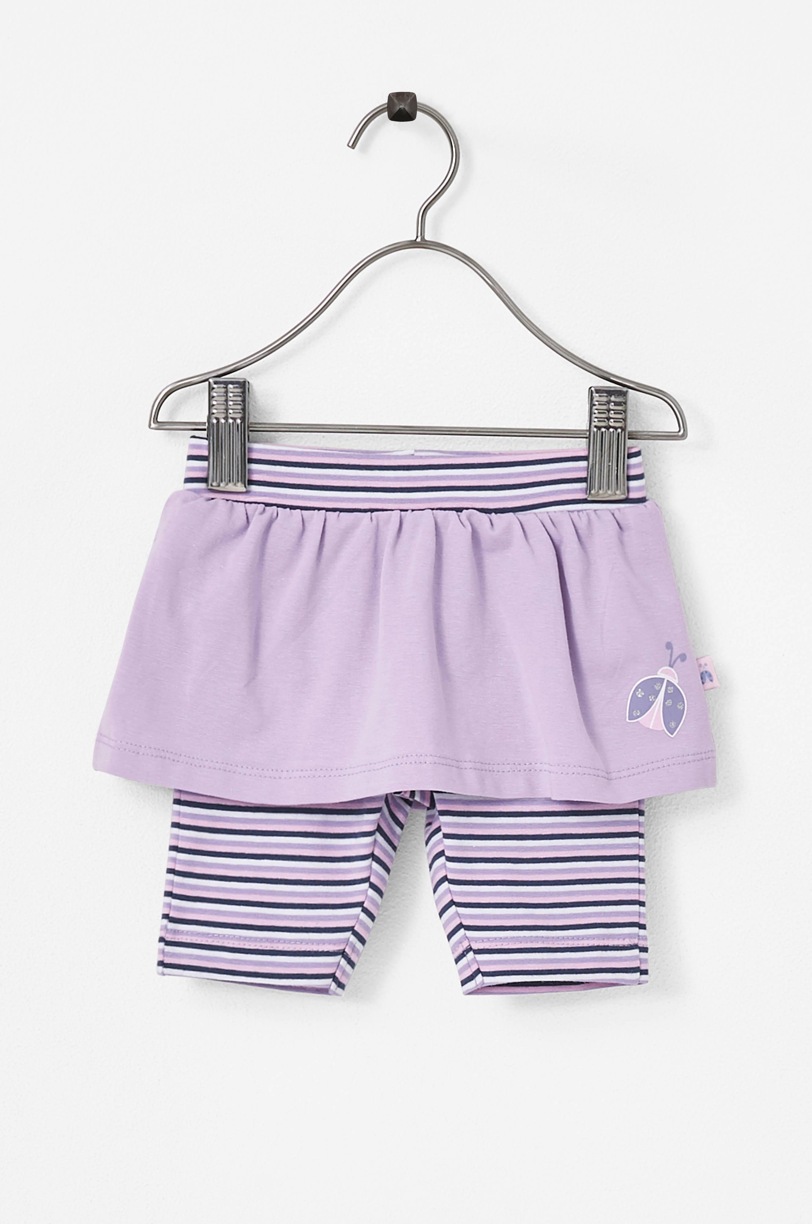 24051114 Me Too Mini Kids Leggings med skjørt - Lilla - Barn - Ellos.no