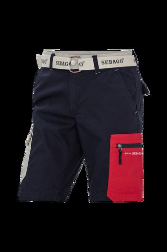 Cargoshortsit Red Pocket Shorts