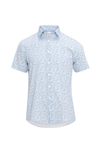 Kauluspaita Floral Print Shirt S/S