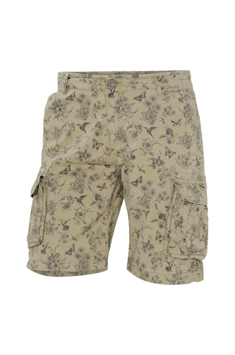 Shortsit Combat Shorts Botanic Lt. Stretch Twill