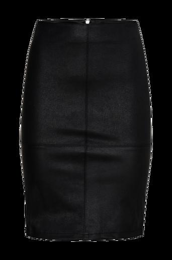 OnlCelina Faux Leather Midi Skirt -hame