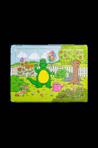 Lohikäärme puutarhassa -palapeli